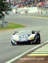 MARCOS 600LM March/Leslie/Migault Le Mans 24 hrs 1995 action photo (a)